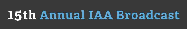 15th IAA Broadcast