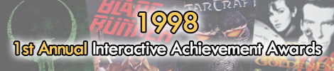 1998 - 1st Annual Interactive Achievement Awards