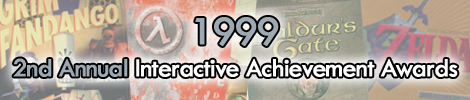 1999 - 2nd Annual Interactive Achievement Awards