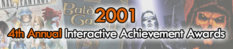 2001 - 4th Annual Interactive Achievement Awards
