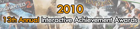 2010 - 13th Annual Interactive Achievement Awards
