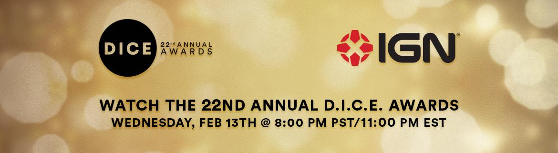 22nd Annual D.I.C.E. Awards - Livestream