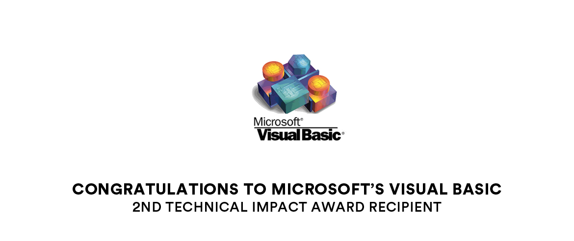 Microsoft's Visual Basic - Technical Impact 2016 Winner