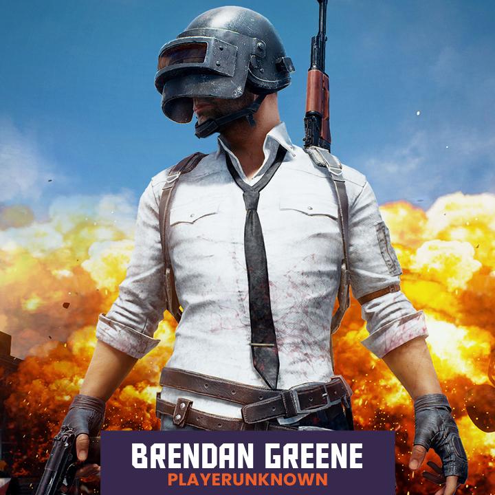 Brendan Greene AKA PlayerUnknown
