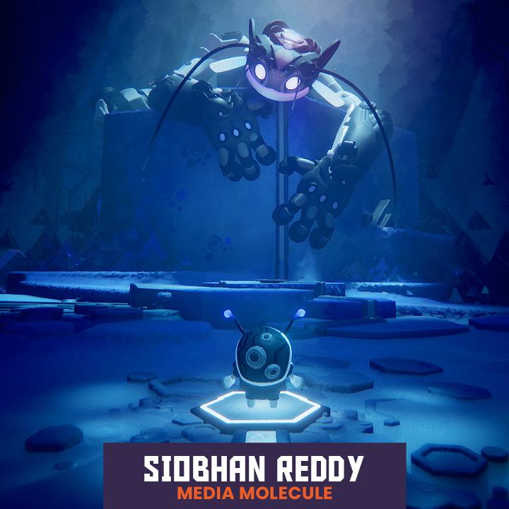 Media Molecule's Siobhan Reddy
