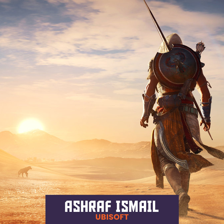 Ashraf Ismail of Assassin's Creed