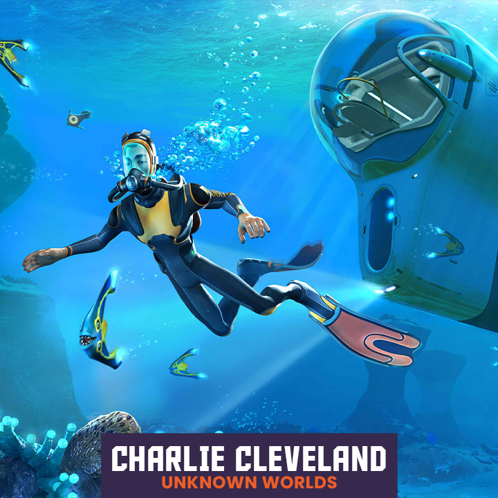 Subnautica Creator Charlie Cleveland