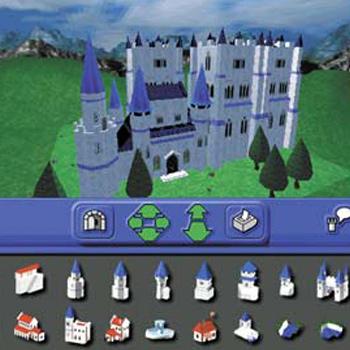 3-D Castle Creator