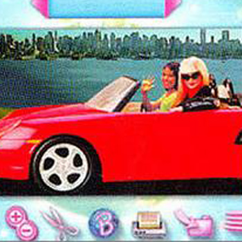 Barbie Photo Designer Digital Camera and CD-Rom