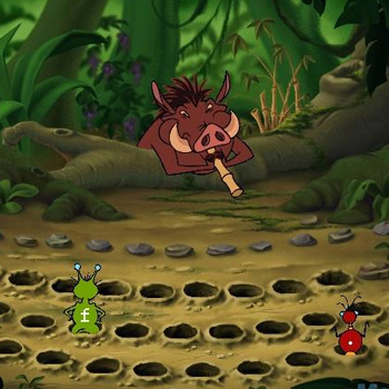 Disney's Adventures in Typing with Timon & Pumbaa