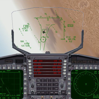 F/A-18 Simulator