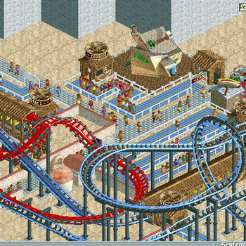 RollerCoaster Tycoon: Loopy Landscapes