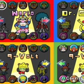 wario ware gamecube