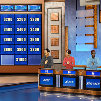 Multiplayer Jeopardy! Online