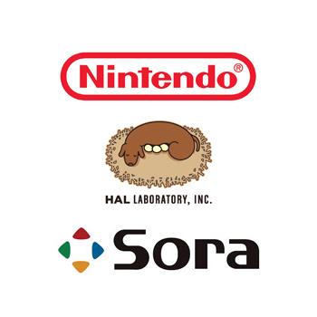 Nintendo, HAL Laboratory, Sora Ltd.
