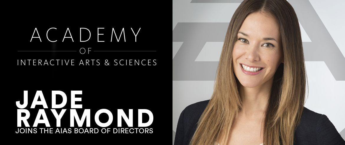 Jade Raymond joins the AIAS Board of Directors