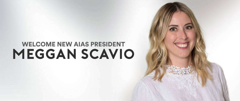 New AIAS President, Meggan Scavio