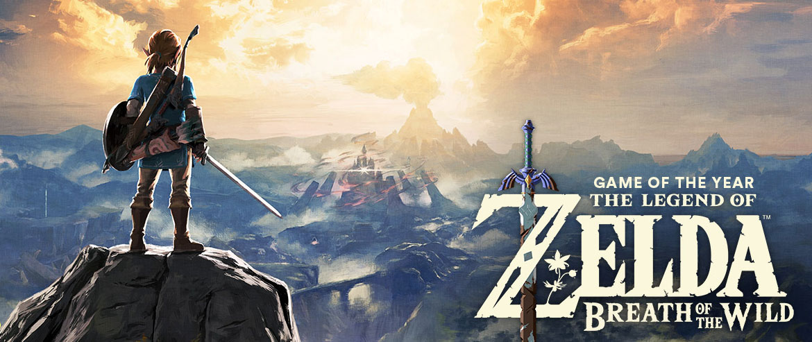 Game of the Year - The Legend of Zelda: Breath of the Wild
