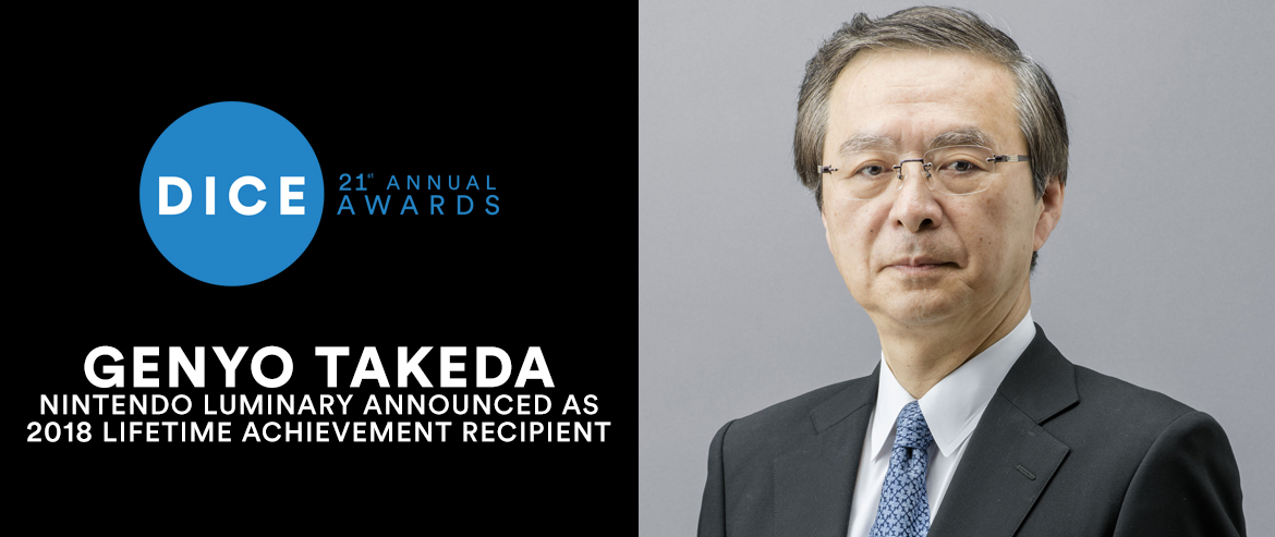 Genyo Takeda, 2018 Lifetime Achievement