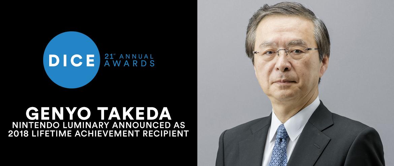 Genyo Takeda, 2018 Lifetime Achievement