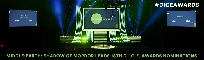 18th D.I.C.E. Awards Finalists