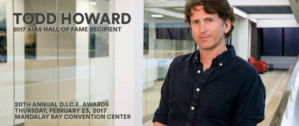 2017 AIAS Hall of Fame, Todd Howard