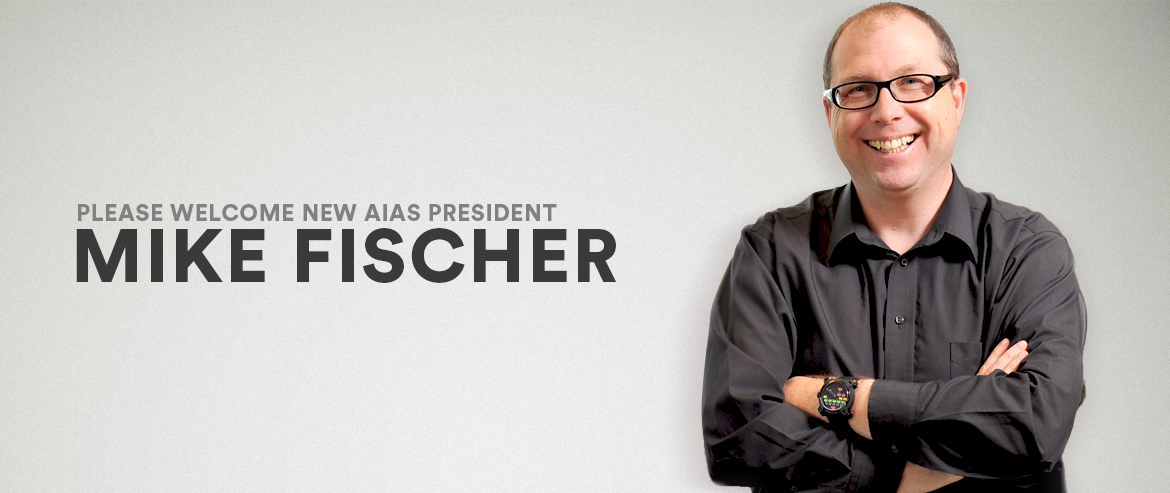 New AIAS President Mike Fischer