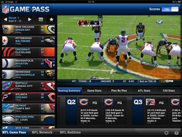 iPad NFL Game Pass