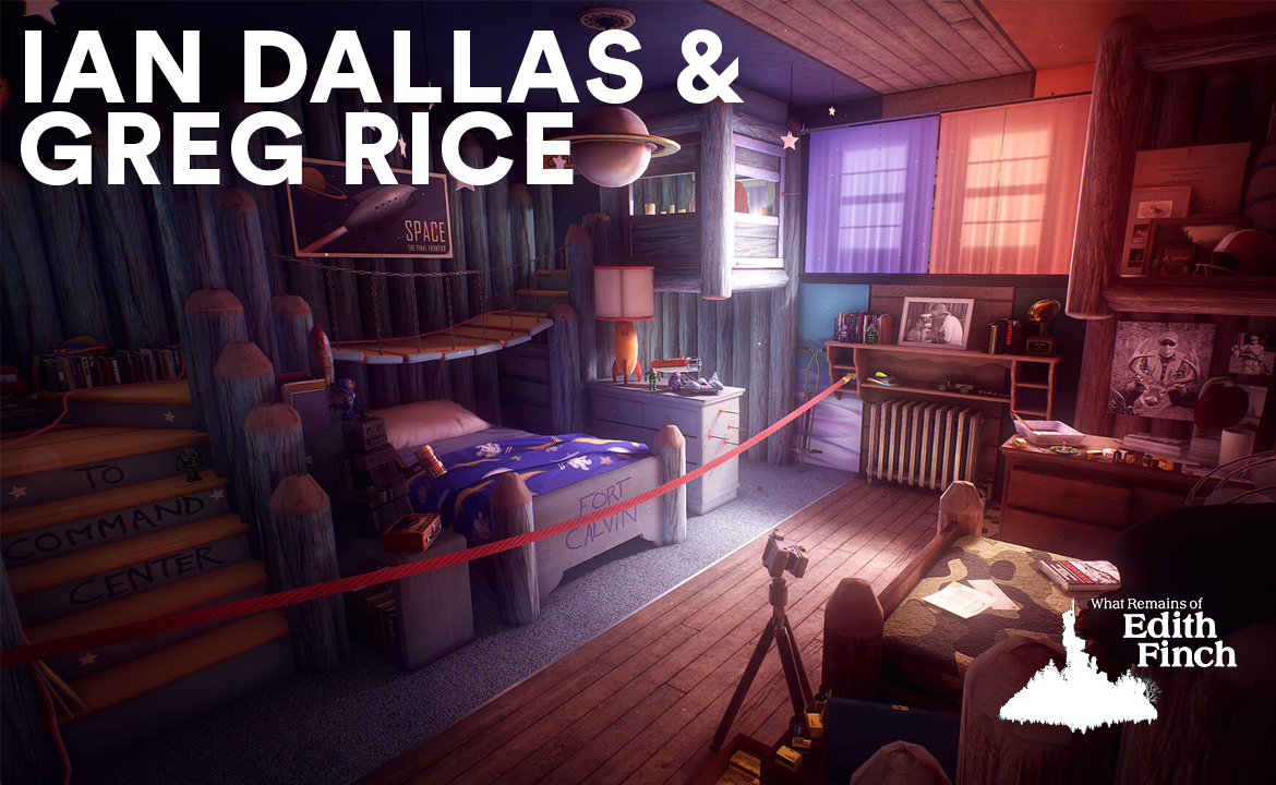 Ian Dallas, Giant Sparrow and Greg Rice, Double Fine Productions