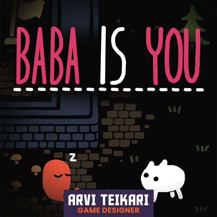 Baba is You creator Arvi Teikari