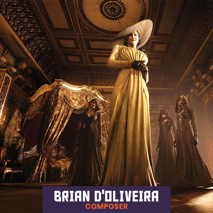 Composer Brian D'Oliveira
