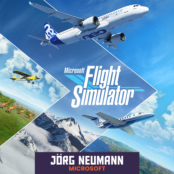 Jorg Neumann, Head of Microsoft Flight Simulator