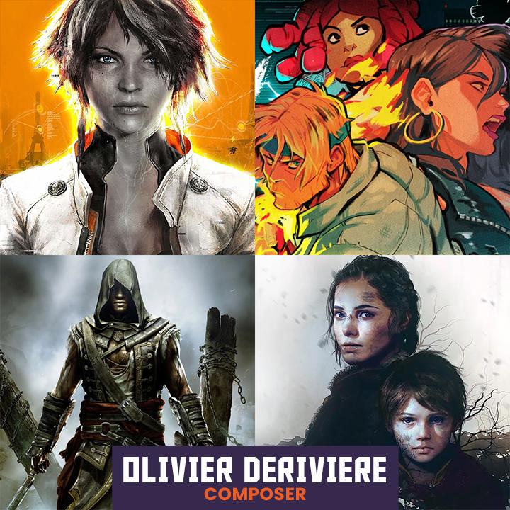 Composer Olivier Deriviere