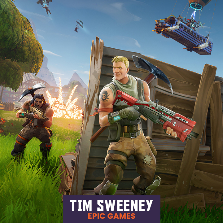 Epic Games' Tim Sweeney